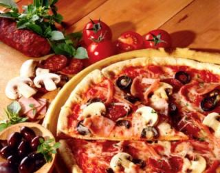 pizza della casa